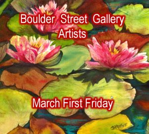 Laurel Bahe, Barb Midyett, & Joni Ware presented by Boulder Street Gallery and Framing at Boulder Street Gallery, Colorado Springs CO