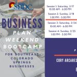 Business Plan Weekend Boot Camp: Southeast CO Springs presented by Pikes Peak Small Business Development Center at ,