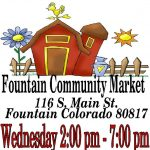 Fountain Community Market presented by Fountain City Hall at Fountain City Hall, Fountain CO