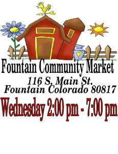 Fountain Community Market presented by Fountain Community Market at Fountain City Hall, Fountain CO