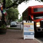 May First Friday Shuttle Bus