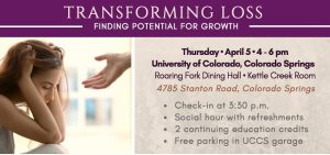 Grief Workshop presented by Pikes Peak Hospice & Palliative Care at ,