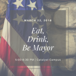 Eat, Drink, Be Mayor presented by Catalyst Campus at Catalyst Campus, Colorado Springs CO