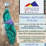 Colorado Springs Art Guild Monthly Meeting presented by Ken Kirkbride at Cottonwood Center for the Arts, Colorado Springs CO