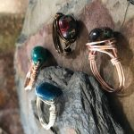 Earth Expressions: wire Wrapped Rings