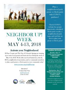 Council of Neighbors and Organizations Annual Fundraiser presented by Peak Radar Live Online Show and Podcast at WhirlyBall, Colorado Springs CO