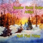 Joan Judge, Myra Patin, & Sue Andzik presented by Boulder Street Gallery and Framing at Boulder Street Gallery, Colorado Springs CO