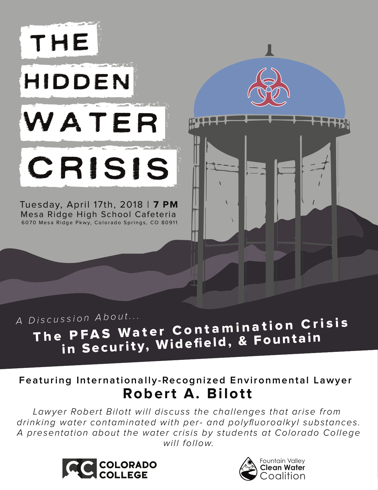 The Hidden Water Crisis in Security-Widefield and Fountain