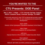 Department of Defense Careers Panel presented by Colorado Technical University at Colorado Technical University, Colorado Springs CO