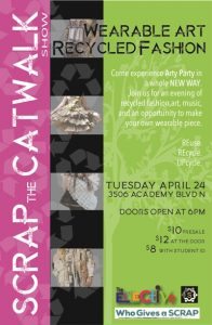 SCRAP the Catwalk: Wearable Art Recycled Fashion