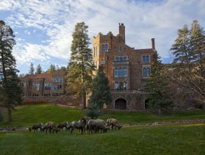 Glimpse of History: Glen Eyrie, Home of William Ja...