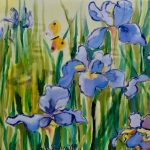 Silk Paintings by Mary Gorman