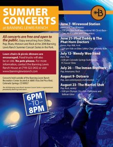 Banning Lewis Ranch Summer Concert Series