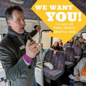 October Free First Friday Shuttle Bus