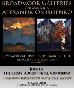 Alexandr Onishenko: New Impressionism From Dark to...