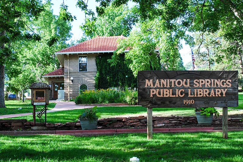 Image result for manitou springs library