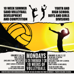 Summer Youth Sand Volleyball Development presented by BooDad's Beach House Grill at ,
