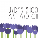 Under $100 Spring Art and Gift Sale