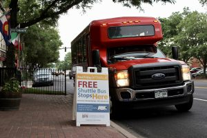 September Free First Friday Shuttle Bus