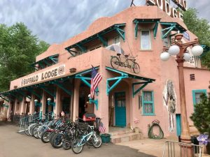 Buffalo Lodge Bicycle Resort located in Colorado Springs CO