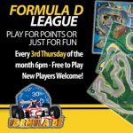 Formula De League presented by Petrie's Family Games at Petrie's Family Games, Colorado Springs Colorado