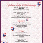 Anniversary Dinner and Member Recognition