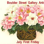 Eric Fetsch, Sally Huang-Nissen, Linda Newton presented by Boulder Street Gallery and Framing at Boulder Street Gallery, Colorado Springs CO
