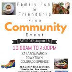 Family Fun and Friendship Community Event