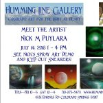 Spray Art Demonstration by Nick Puylara