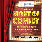 Night of Comedy presented by Special Kids Special Families at Hotel Elegante Conference and Event Center, Colorado Springs CO