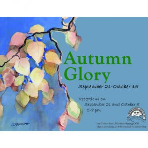 Autumn Glory presented by Commonwheel Artists Co-op at Commonwheel Artists Co-op, Manitou Springs CO