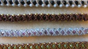 Off-Loom Bead Weaving: Right-Angle Weave Bracelet
