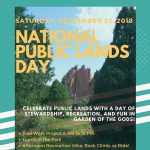 National Public Lands Day in Garden of the Gods