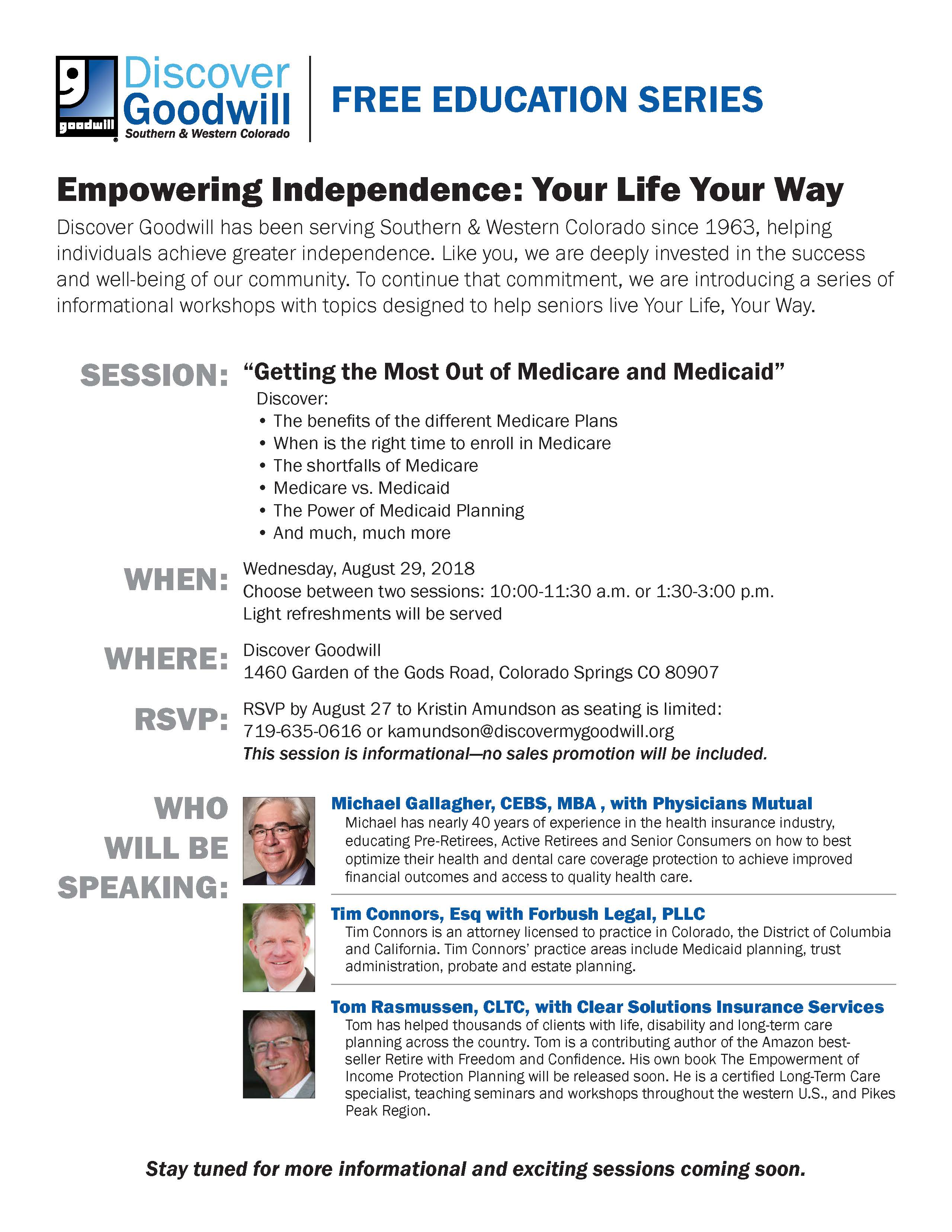 getting the most out of medicare and medicaid presented by discover