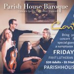 """Early Music Concert: Continental """"Breakfast"""" presented by Parish House Baroque at First Lutheran Church, Colorado Springs CO"""