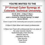 Cyber Synergy presented by Colorado Technical University at Colorado Technical University, Colorado Springs CO