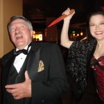 The Wooden Stake Murder presented by Red Herring Productions at Briarhurst Manor Estate Restaurant, Manitou Springs CO