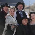 'Murder in a Ghost Town' Halloween Murder Mystery presented by Red Herring Productions at Briarhurst Manor Estate Restaurant, Manitou Springs CO