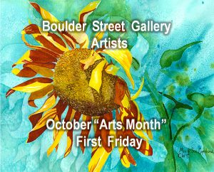 Larry Haught, Roberta Westrick, Mary Sue Copeland, & Mary Cotner presented by Boulder Street Gallery and Framing at Boulder Street Gallery, Colorado Springs CO