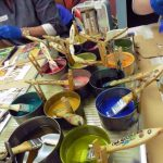 Painting With Encaustic One Day Sunday Workshop