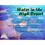 Call for Entries: Water in the High Desert