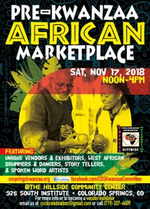 2018 Colorado Springs African Marketplace