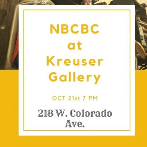 NBCBC at Kreuser Gallery