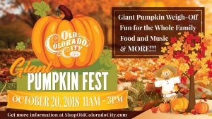 Giant Pumpkin Fest presented by Giant Pumpkin Fest at Old Colorado City, Colorado Springs CO