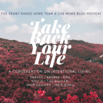 Take Back Your Life: A Conversation about Intentional Living presented by S.P.Q.R. at S.P.Q.R., Colorado Springs CO