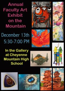Annual Faculty Art Exhibit on the Mountain