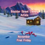Jack Malloch, Tom Light, Susan Randolph presented by Boulder Street Gallery and Framing at Boulder Street Gallery, Colorado Springs CO