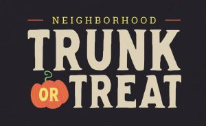 Trunk or Treat Fest!