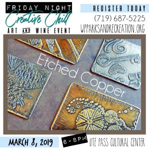 Friday Night Creative Chill: Etched Copper