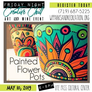 Friday Night Creative Chill: Painted Flower Pots